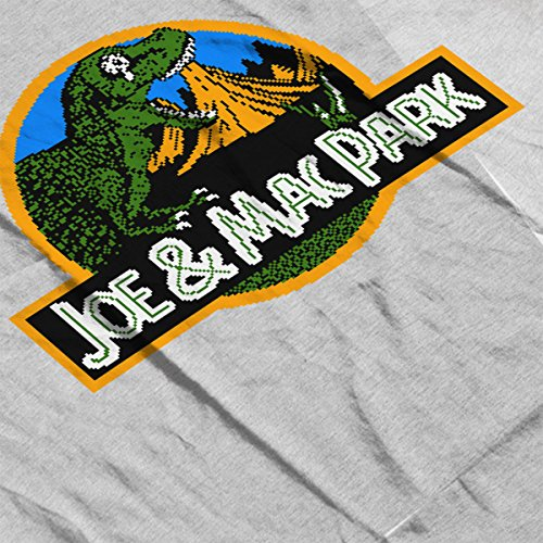 Caveman Park Joe and Mac Women's Hooded Sweatshirt Heather Grey
