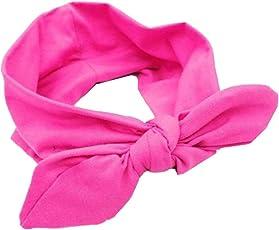 ALCYONEUS - Turbante da donna per yoga, graziosa fascia elastica annodata tipo turbante per capelli