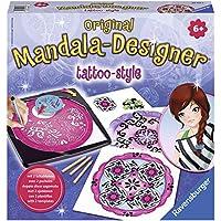 Ravensburger 29743 Mandala-Designer® - Set de diseño y dibujo motivos de tatuaje [Importado de Alemania]