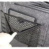 1pc Universal Schwarz Auto Seiten Rückseiten Stamm Lagerung Net Taschen Beutel Double Layer Beutel mit Klebe 40 * 25.5cm