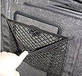 1pc Universal Schwarz Auto Seiten Rückseiten Stamm Lagerung Net Taschen