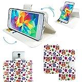 Mobiwire AHIGA/PEGASUS 360 print Smartphone Tasche /