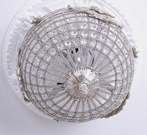 Deckenlüster Rokoko Lampe Hängelampe Kristalle Deckenleuchte Antik Palazzo Exclusiv
