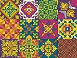 NossaRua Vinilo Autoadhesivo portugués Adhesivo Azulejos Sintra Collection (12Unidades) (6