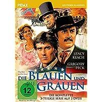 Die Blauen und die Grauen (The Blue and the Gray) / Der komplette Dreiteiler mit Gregory Peck und Stacey Keach