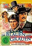 Die Blauen und die Grauen (The Blue and the Gray) / Der komplette Dreiteiler mit Gregory Peck und Stacey Keach (Pidax Historien-Klassiker) [3 DVDs]