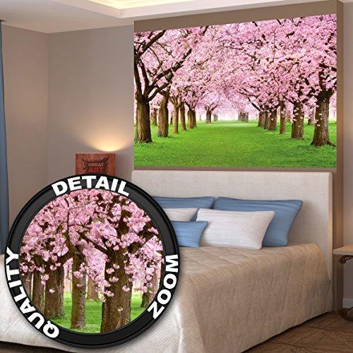 albero-di-ciliegio-fotomurale-bosco-con-alberi-di-ciliegio-primavera-rosa-carta-da-parati-quadro-alb