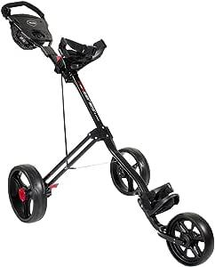 Masters 5 Series Chariot de golf 3 roues Noir