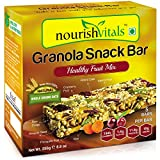 #10: Nourish Vitals Granola Snack Bar - Healthy Fruit Mix (5 Bars) - 250g