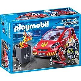 PLAYMOBIL-9235-Feuerwehr-Einsatzfahrzeug