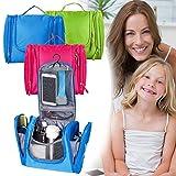 Bago Kulturbeutel / Dusch-Tasche für Reisen, Pflegeprodukte, Makeup und mehr (Blau) -