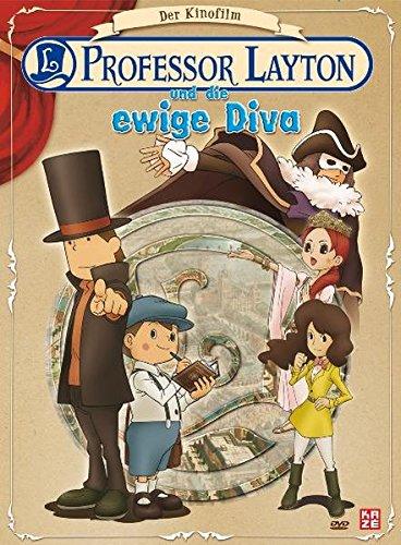 Professor Layton und die ewige Diva - Der Kinofilm [2 DVDs] [Deluxe Edition]