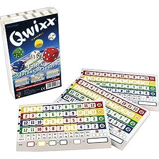 Gigamic - JNQR - Jeu de dés - Qwixx - Recharge Bloc De Score - 3 X 80 Fiches