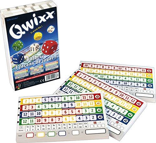 Gigamic - JNQR - Jeu de dés - Qwixx - Recharge Bloc De...