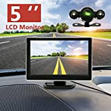 AST Works Wireless 5'' 720P Car LCD Monitor 170Ã'° Night Vision Rear View Backup Camera