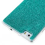 COZY HUT Luxury Bling Glitter Sparkle Case for Huawei P8 Lite Shockproof Case Shining Shock Absorption TPU Bumper Protective Phone Case Cover for Huawei P8 Lite - green 8
