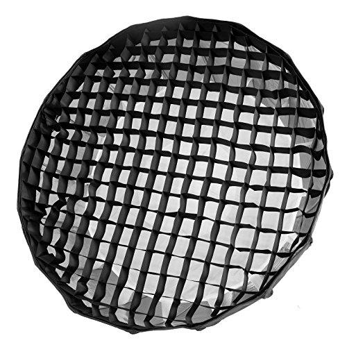 Selens 90cm Professional Wabenraster Honeycomb für Selens 90cm 16 Rods Deep Parabol Schnell Abbau Softbox