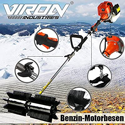 Motorbesen Power Sweeper Kehrmaschine Schneeschieber Schneefräse