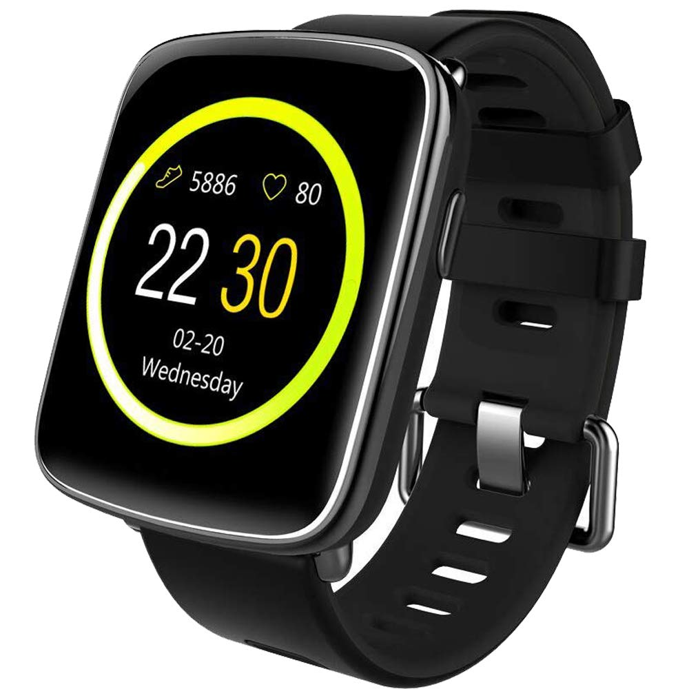 Willful Smartwatch con Pulsómetro,Impermeable IP68 Reloj Inteligente con Cronómetro, Monitor de sueño,Podómetro… 1