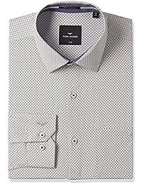 Park Avenue Men's Formal Shirt (8907663232903_PMSY09735-G3_Medium Grey_42)