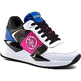 Scarpe Donna Sneaker Guess Tesha Running Brown Multicolor DS21GU32 FL5TESELE12