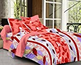 Cotton Double Bedsheet + 2 Pillow Covers