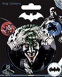Pyramid International DC Comics (Batman) Stickers muraux en Vinyle, Papier, Multicolore, 10x 12.5x 1.3cm