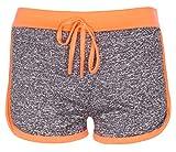 Noroze Mädchen Gymnastik Flecken Hot Pants Sportbekleidung Shorts Kurze Hose (7-8, Koralle)