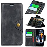 For Motorola Moto Z3 Play Case, [Extra Card Slot] Danallc [Wallet Case] PU Leather TPU Casing Leather Case [Drop Protection] Case Compatible With Motorola Moto Z3 Play, Black