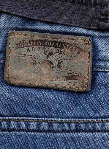 M.O.D Herren Jeans Thomas Ash Blue Ash Blue