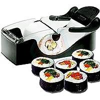 JER Parfait Sushi Roll Machine Sushi Maker Rouleau matériel de Bricolage Magic Kitchen Gadget Accessoires de Cuisine…