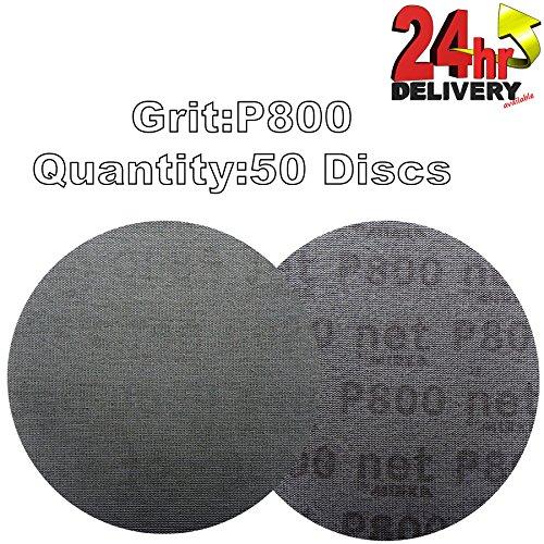 mirka-autonet-150mm-6-sanding-mesh-disc-p800-grit-50-discs-paintwork-dust-extraction-for-paint-strip