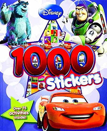 Image of Disney Pixar Monsters: Activity Book With 1000 Stickers! (Monsters Inc & Monsters University)