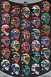 NHL Masks Poster - Alle 30 Torhüter Masken Poster RP14879
