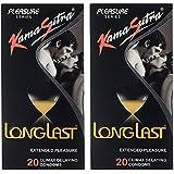 Kama Sutra Long Last Condom 20 Pcs (Pack Of 2)