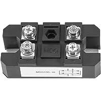 nero per rettifica monofase Raddrizzatore monofase 1PC raddrizzatore a ponte a diodi a onda intera monofase raddrizzatore a 150A ad alta potenza 1600V raddrizzatore a ponte