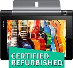 (CERTIFIED REFURBISHED) Lenovo Yoga Tab 3 8 Tablet (8 inch, 16GB, Wi-Fi + 4G LTE), Slate Black