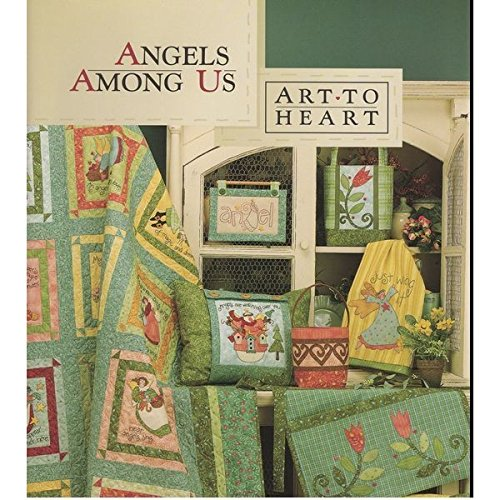 (Schiff von USA) Art zu Herzen Engel unter uns Quilting Book Angel Stickerei Quilts New Book * plkhg484uy842 -