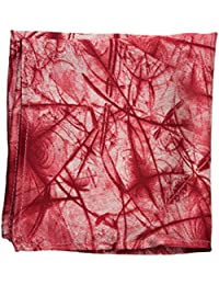 Vibhavari Men's Pocket Square - Red