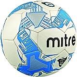 mitre Junior Lite Ballon d'entraînement Blanc/Argent/Bleu Taille 4