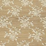 50*130cm DIY Lace Trim handgefertigte Baumwolle für Nähen und Patchwork Weiss