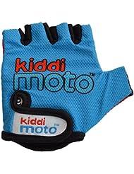 Kiddimoto 2glv003m - Diseño Deporte guantes universidad, M al por mayor, azul