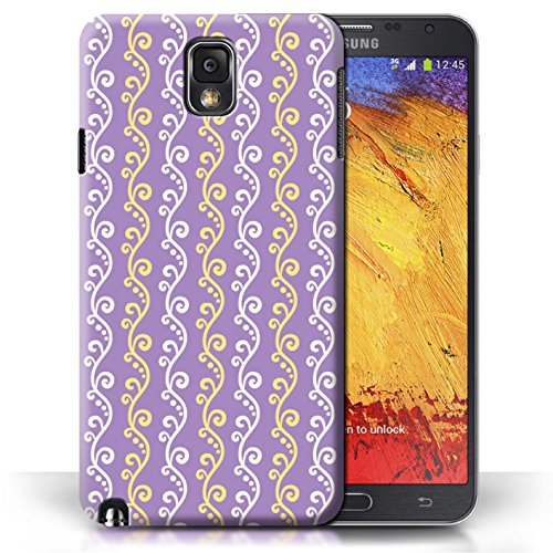 iCHOOSE Print Motif Coque de protection Case / Plastique manchon de telephone Coque pour Apple iPhone 5C / Collection vigne / Vert Violet