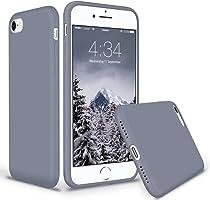 SURPHY Cover iPhone 8, Cover iPhone 7, Custodia iPhone 8 7 Silicone Slim Cover Antiurto con Morbida Microfibra Fodera,...