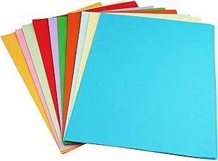 Sinar Premium A4 Color Paper for Photocopy, Art & Craft - 100 Sheets. 10 Colour. 80GSM