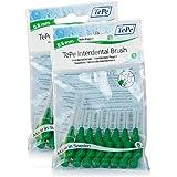 TePe Pinceaux interdentaires de 0,8 mm 2 paquets de 8 (16) Brosses vert