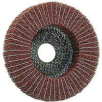disco di lucidatura combinata 115 x 22,2 Lana/Corda , 3 Granatura , per metallo , Disco in pile, Mole abrasive - Grana fine - Linea Bene