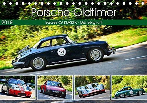 Porsche Oldtimer - EGGBERG KLASSIK - Der Berg ruft (Tischkalender 2019 DIN A5 quer): Der legendäre deutsche Sportwagen am Berg (Monatskalender, 14 Seiten ) (CALVENDO Mobilitaet)