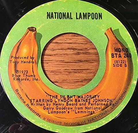 Watergate Tapes / Silent Majority [Vinyl Single 7'']