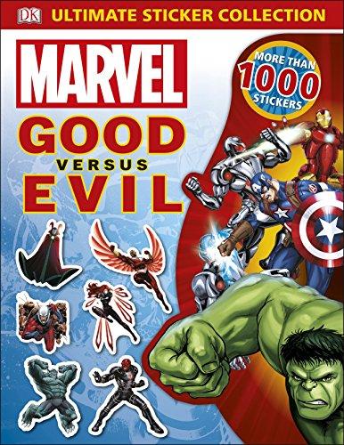 Marvel Good vs Evil Ultimate Sticker Collection (Dk Marvel) (Avengers Ultimate Collection)